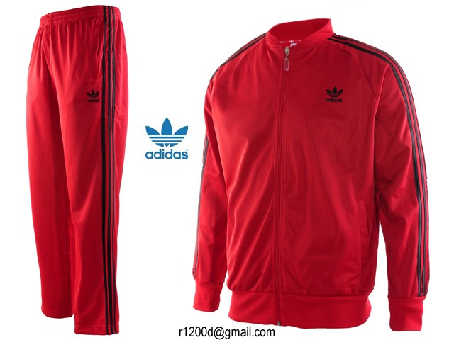 pantalon adidas hommes rouge