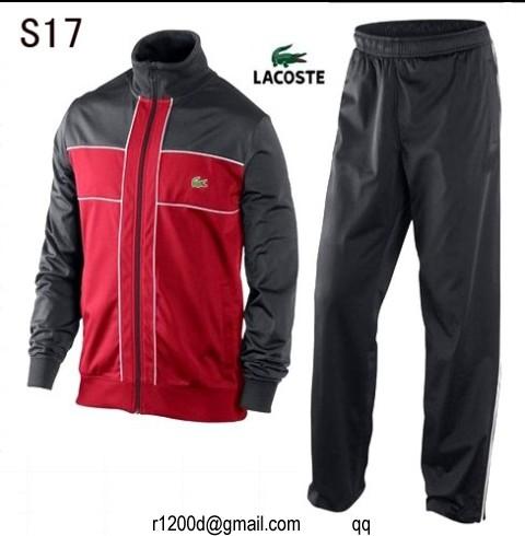 5bdc455931 jogging lacoste rouge bordeaux. Je veux voir plus de Survêtements bien notés  par les internautes et pas cher ICI