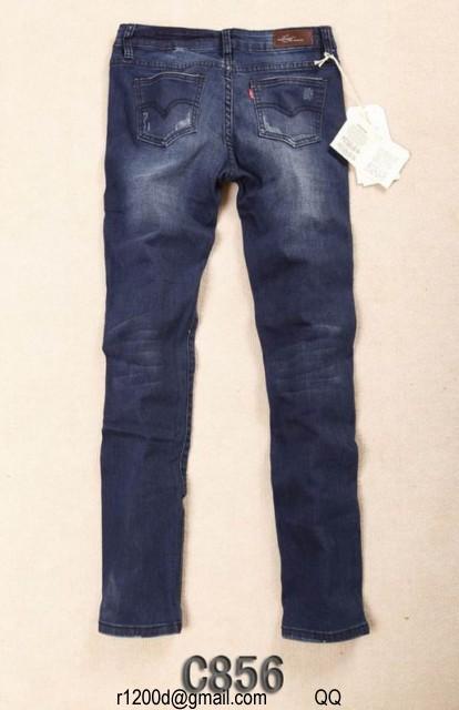destockage jeans levis femme
